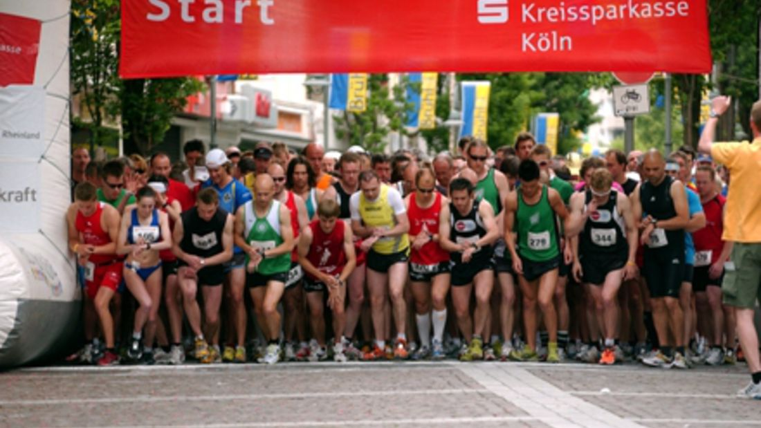 Brühler Stadtlauf Start