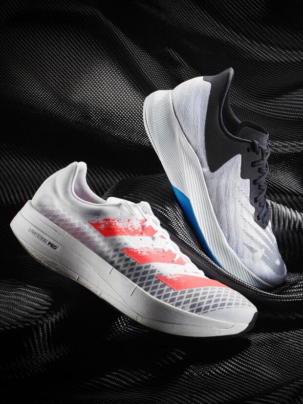 Carbon-Laufschuhe im Test: Adidas, New Balance