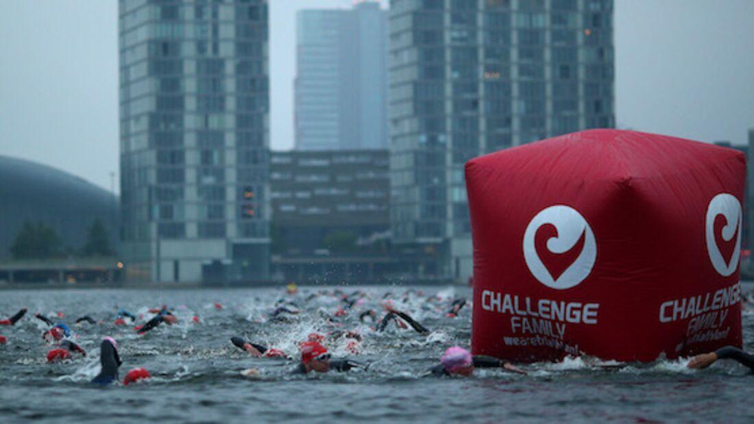 Challenge Almere-Amsterdam Triathlon Schwimmen 2015