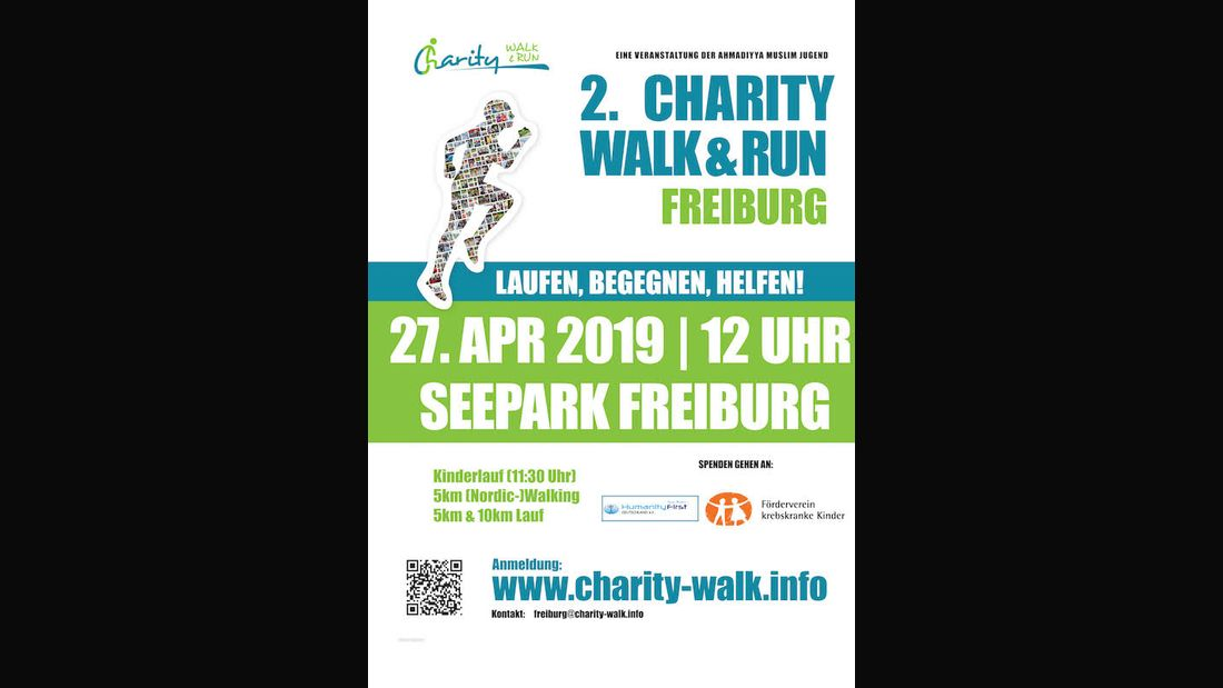 Charity Walk & Run Freiburg 2019