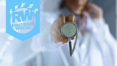 Check-up beim Arzt