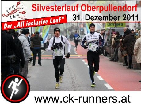 Crazy Krebsler Silvesterlauf Oberpullendorf Plakat 460