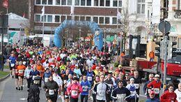 Cuxhaven-Marathon Start 2014