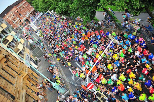 Dämmer-Marathon 2018 Läuferfeld