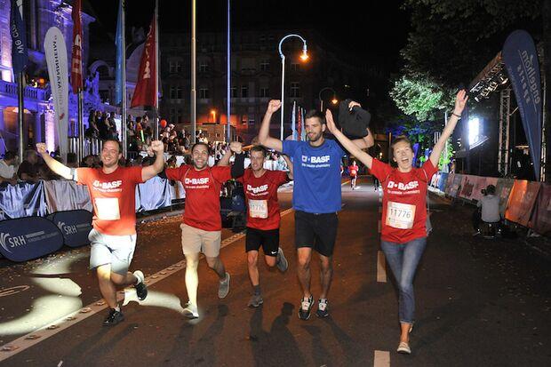 Dämmer-Marathon Metropolregion Rhein-Neckar 2018