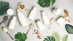 Dairy free milk substitute drinks and ingredients