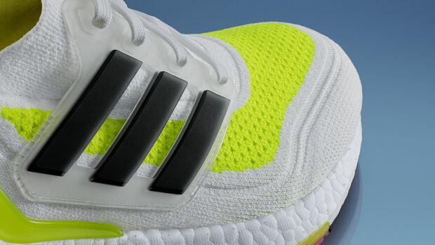 Das Primeknit-Obermaterial des Adidas Ultraboost 21