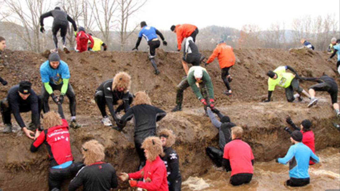Das Rock Race führt seine Teilnehmer an ihre körperlichen Grenzen.