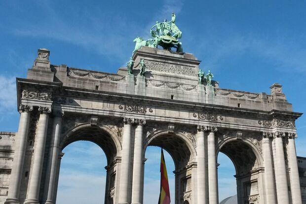 Der Brüssel-Marathon startet im Jubelpark