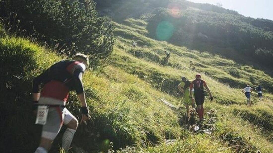 Der Karwendelmarsch ist ein Sportevent für ambitionierte Berg- und Trailläufer.