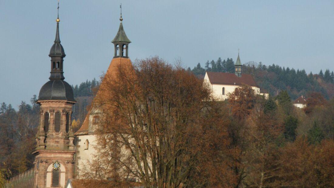 Der Lauf startet im der Altstadt von Gengenbach.