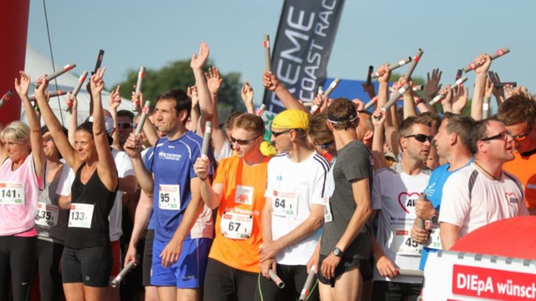 Der Rostocker Firmenlauf ist das größte sportliche Networking in der Region.