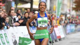 Deutsche Halbmarathon Meisterschaften; Hamburg, 17.10.21