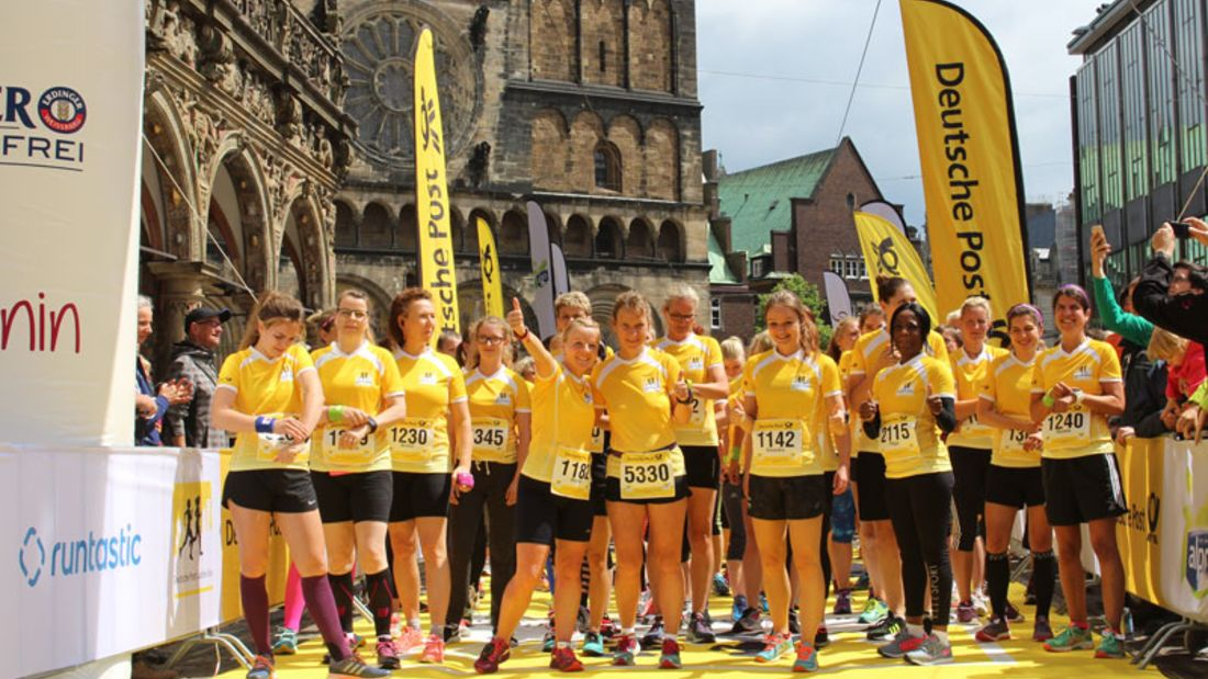 Deutsche Post Ladies Run in Bremen