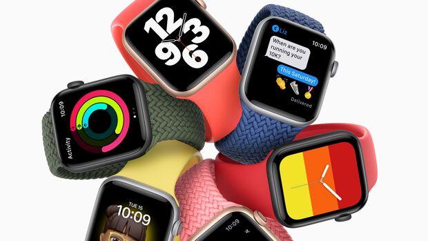 Die Apple Watch SE ist ein günstigeres Einsteigermodell
