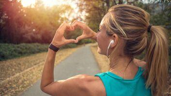 Die Chance, sich in das Laufen zu verlieben, ist groß.