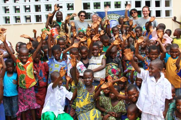 Die Reinerlöse des Laufs gehen an Education Togo.