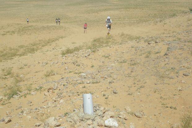 Die Strecke des Sahara-Marathon