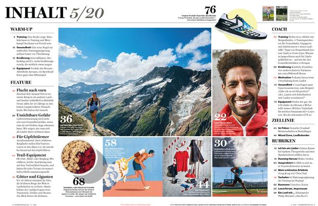 Die Themen der RUNNER'S WORLD Mai-Ausgabe 05/20
