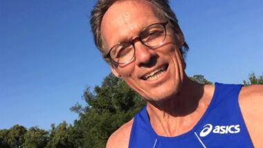 Dieter Baumann beim Lauf der Woche