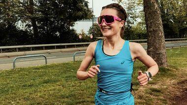 Dioni Gorla beim Wings for Life World Run 2020