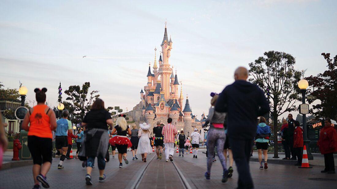Disneyland Paris Halbmarathon 2017