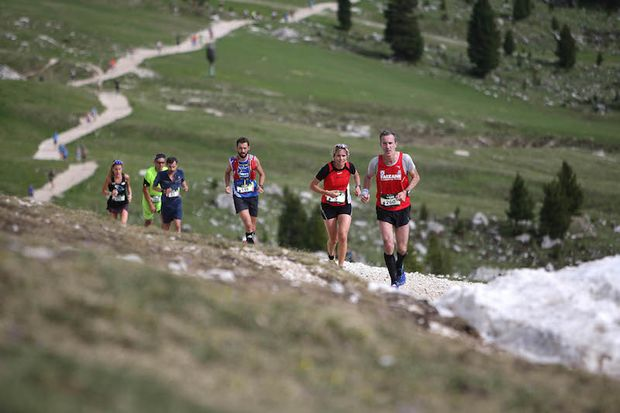 Dolomites Saslong Half Marathon 1/2018