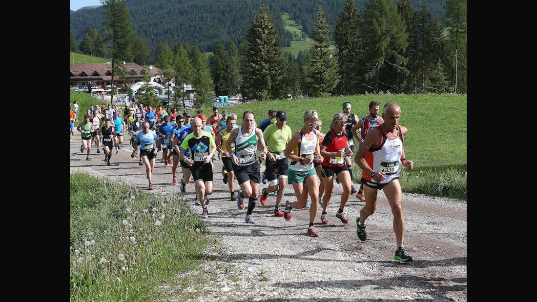 Dolomites Saslong Half Marathon 2018