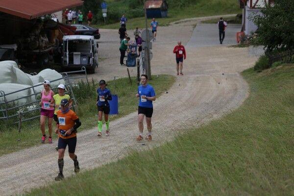 Donautal-Marathon Tuttlingen: Streckenabschnitt Jägerhaus