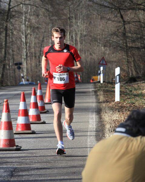 Donnersbergauf Steinbach: Sieger Jonas Lehmann