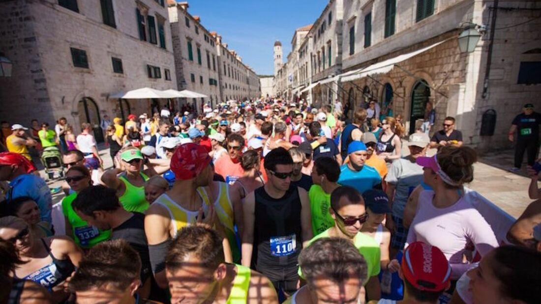 Dubrovnik Half Marathon 2015 Start