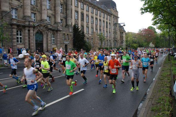 Düsseldorf-Marathon 2015