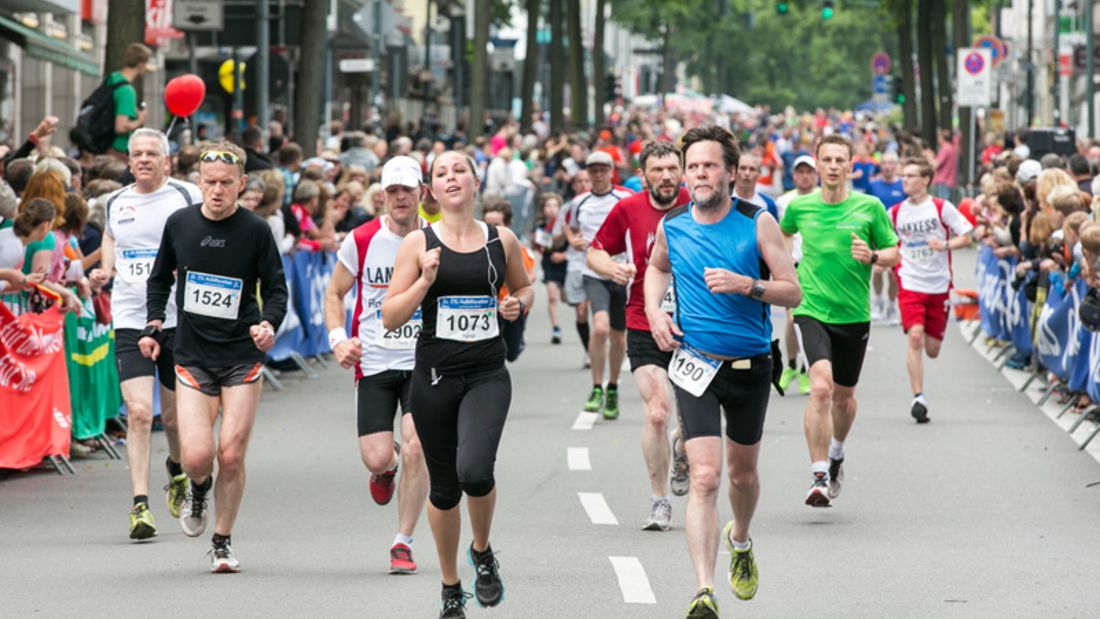 EVL-Halbmarathon in Leverkusen