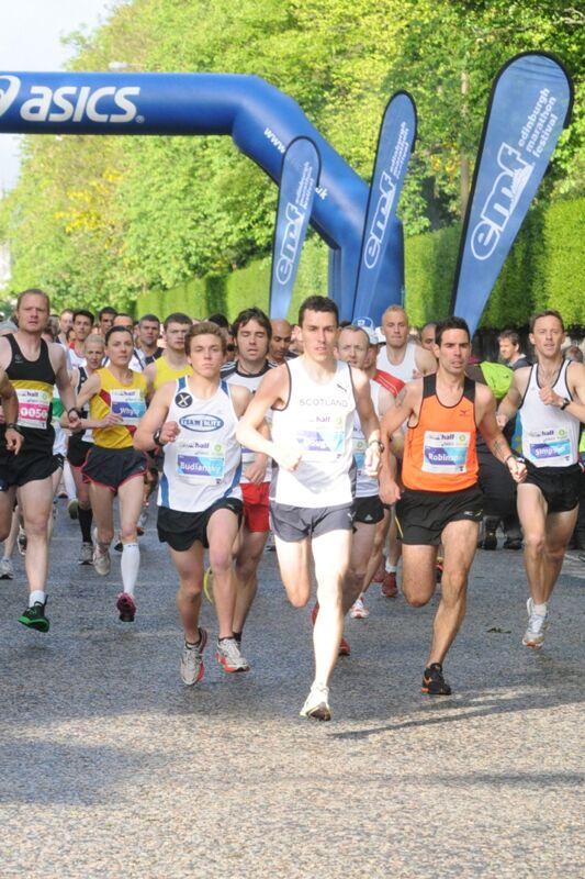 Edinburgh Marathon Festival Start