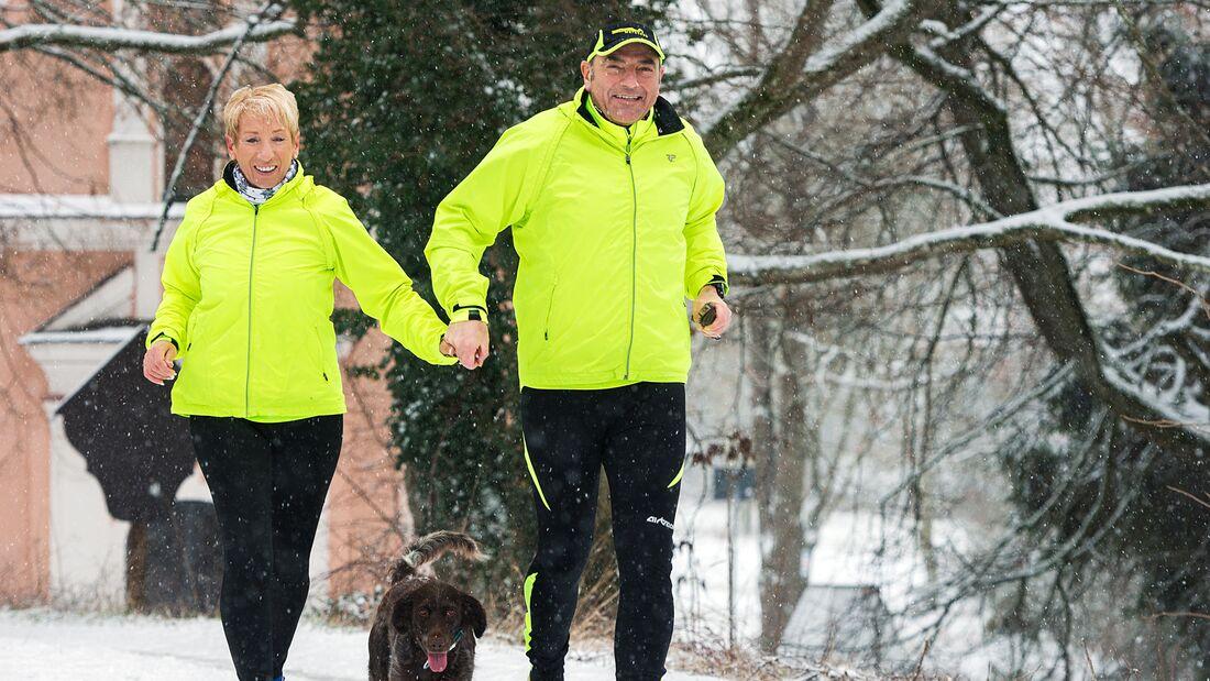 Ehepaar Guttenberger stehen für echte Läuferliebe