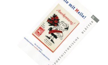 Eile mit Meile - Sporthistorische Blätter zur DDR-Laufbewegung