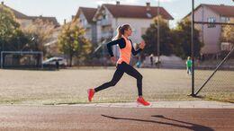 Eine 400-Meter-Laufbahn ist ideal für schnelle Laufeinheiten.