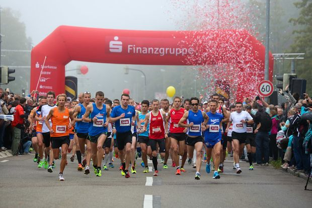 Einstein-Marathon Ulm Start
