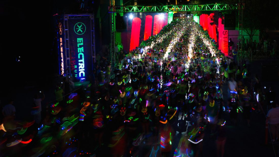 Electric Run Hannover 1 2014