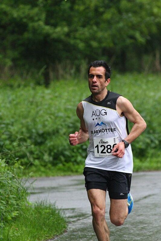 Elias Sansar, 2013 Sieger des 5-km-Laufs beim Sternchenlauf Schloss Holte-Stukenbrock