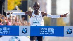 Eliud Kipchoge beim Berlin-Marathon 2018