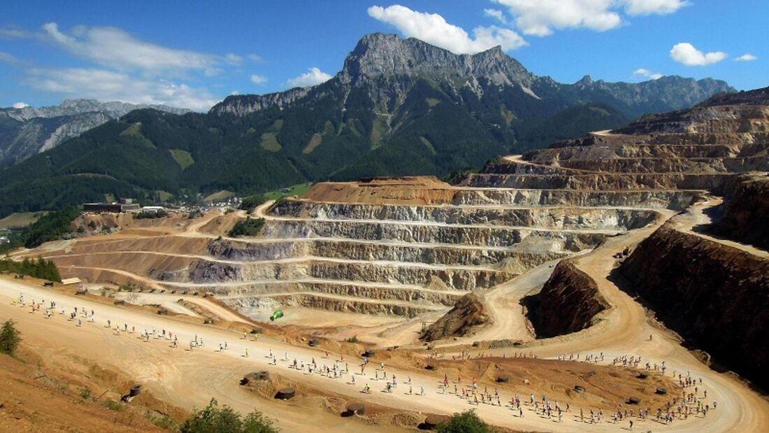 Erzberglauf Eisenerz: Die Stufen der Steirischen Pyramide