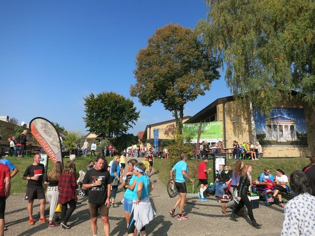Etsdorfer Tempel-Marathon 2014 Ziel