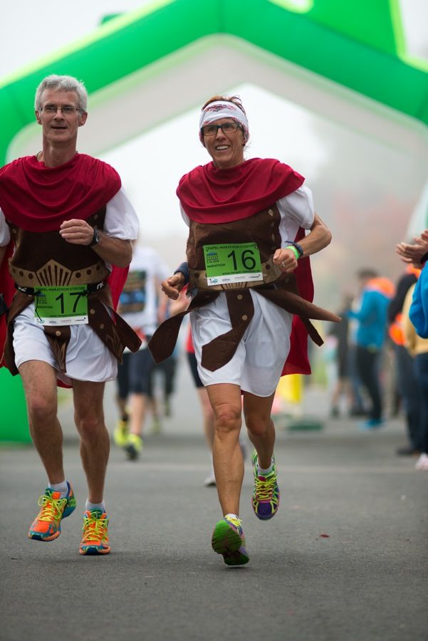 Etsdorfer Tempel-Marathon 2014 verkleidet