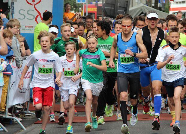 Europawocheluf Hennef 2013 10-km-Lauf