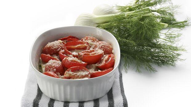 Fenchel-Tomaten-Gratin