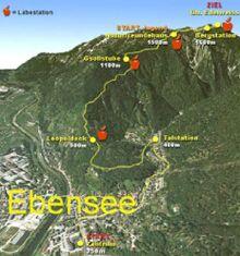 Feuerkogel-Berglauf Ebensee