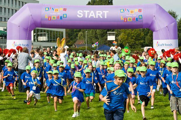 """Finallauf """"Kinder laufen für Kinder"""" Bremen"""