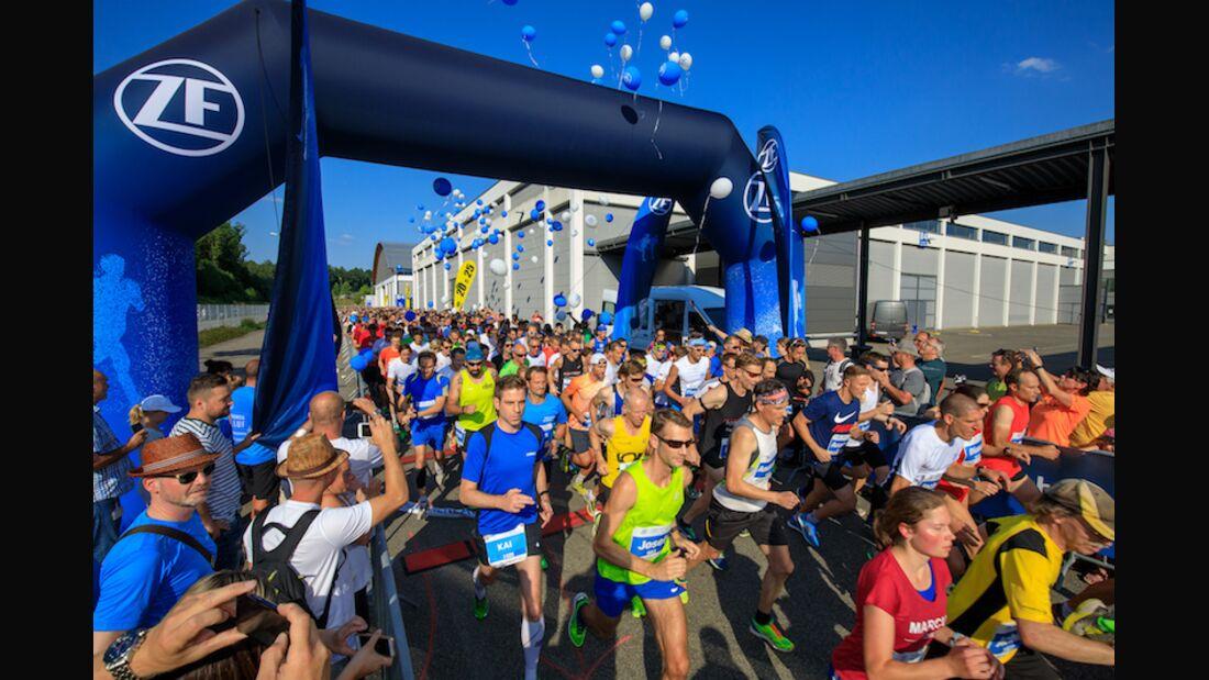 Firmenlauf Friedrichshafen 2018 Start