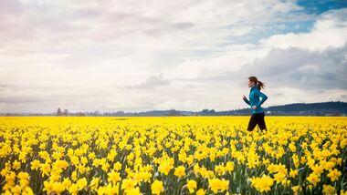 Fit in den Frühling